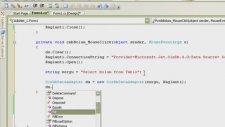 C# C Sharp Eğitimi Db'den Combo Box Doldur