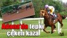 Adana Koşusunda Tepki Çeken Kaza