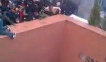 Osmanbey Metro Çıkışında Polis Saldırısı