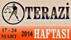 TERAZİ Bu HAFTA Burç ve Astroloji Yorumu(17-24 Mart 2014) Astrolog DEMET BALTACI, Bilinç Okulu