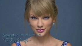 Taylor Swift - Sweeter Than Fiction - Studio Version