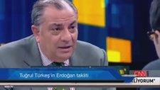Tuğrul Türkeş'in Başbakan Erdoğan Taklidi