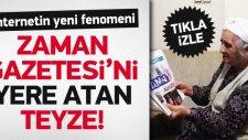 Zaman Gazetesi'ni Yere Atan Teyze Rekor Kırıyor