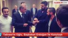 Tatlıses'in Oğlu, Başbakan Erdoğan ile Karşılaştı
