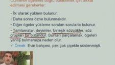 8. Sınıf Türkçe - Cümlenin Öğeleri
