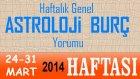HAFTALIK Astroloji ve Burç Yorumu (24-31 Mart 2014) Astroloji uzmanı DEMET BALTACI