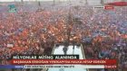 Ak Parti İstanbul Mitingi Muhteşem Bayrak Şovu