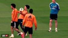 Antrenmanda Ronaldo Şov!