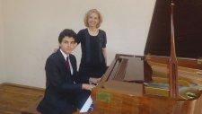 Piyano Vokal: BURCU Düeti HAYATI TESBİH YAPMIŞIM Damar şarkı Piano okulu lise Ferman Toprak arabesk