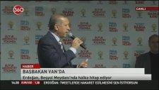 Başbakan Erdoğan'ın Van Mitingi Sesi Kısıldı