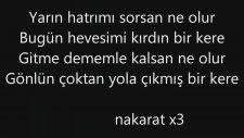 Gökhan Türkmen - Çatı Katı (Şarkı Sözleri)