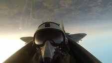 Savaş Uçağından Muhteşem Görüntüler