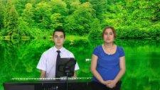 Piyanist Ve Vokal Düeti Urfa'nın Etrafı Dumanlı Dağlar Yöresi Şanlı Urfa Türküsü Solist: Oya Üstad
