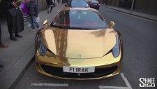 Altın Kaplama Ferrari