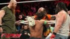 John Cena vs Luke Harper l RAW - 24 Mart 2014