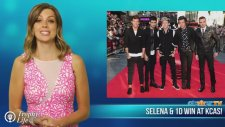 Selena Gomez & One Direction Win At Kids Choice Awards 2014