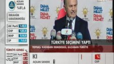 Kadir Topbaş: Türkiye Seçimini Yaptı