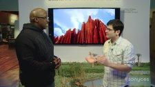 CES 2013  FIRST LOOK  Sony's BRAVIA X900A Series 4K Ultra HD TVs