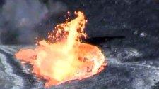 Lav Gölünde Çöpleri İmha Ettiler