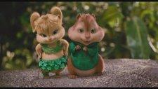 Alvin ve Sincaplar - BAD ROMANCE Music Video
