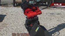 Kubota Mini Ekskavatör - Roto Twıst Döner Motor İle Çalışma Görüntüleri