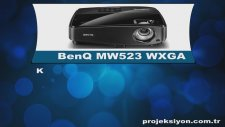 BenQ MW523 WXGA Projeksiyon - Dikey Teknoloji