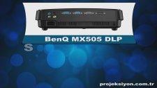 BenQ MX505 DLP Projeksiyon - Dikey Teknoloji - Projeksiyon.com.tr