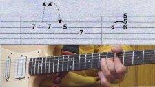 Gitar Dersi - Blues solo gitar dersi videosu 2
