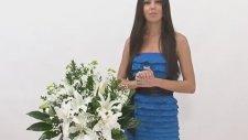 Çiçek Sepeti Kar Beyaz Gül Ve Lilyum Çiçek Aranjmanı