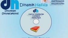 Dinamik Hafıza Teknikleriyle Anayasa (memurlara Verilen Cezalar  05079244259 - 03742705880