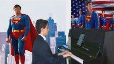 Superman Yabancı Sinema Film Müziği Piyanist Klasik Batı Müziği Senfoni Orkestra Çizgi Filmleri Türk