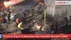 Üçüncü Köprü Çalışmalarında Viyadük İskelesi Çöktü