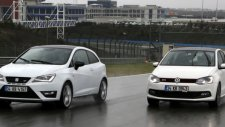 Drag - VW Polo GTI vs Seat Ibiza Cupra