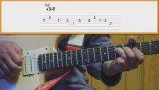 Gitar Dersi - Blues Solo Gitar Dersi Videosu 3