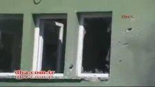 Yayladağı'nda Camiye Top Mermisi Düştü