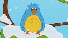 Mini Mini Bir Kuş Donmuştu - Sevimli Dostlar Çocuk Şarkıları (Türkçe Çizgi Film)