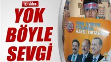 Otizmli Mükremin'in inanılmaz Başbakan Erdoğan sevgisi