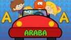 A Harfi - ABC Alfabe SEVİMLİ DOSTLAR Çocuk Şarkıları (Türkçe Çizgi Film)