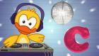 C Harfi - ABC Alfabe SEVİMLİ DOSTLAR Çocuk Şarkıları (Türkçe Çizgi Film)