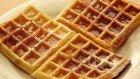 Waffle Tarifi - Waffle Nasıl Yapılır