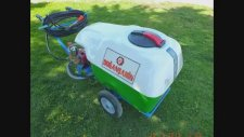 200 Litrelik Elektrikli Benzinli Pulverizatör Sprayers