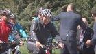 Cumhurbaşkanı Gül Bisiklet Sürdü