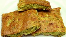 Fırında Kabak Mücver Tarifi - Kabaklı Kek