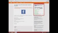 Dns Değiştirmeden Vpn Kullanmadan Facebook'a Giriş 2014