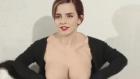 Plastik Maskeyle Emma Watson Olmak