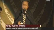 Başbakan Erdoğan Konuşurken Elektrik Kesildi