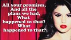 Selena Gomez - Love Will Remember (Lyrics On Screen) [stars Dance]