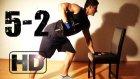 Seviye 5 - 2 Evde Kas Ve Vücut Geliştirme Hareketleri Antrenman Programı Sırt - Omuz - Karın