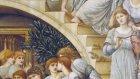 Burne-Jones'un Altın Merdivenler isimli tablosu (The Golden Stairs)