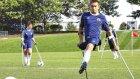 Tek Bacağıyla Futbolculara İlham Kaynağı Olan Genç